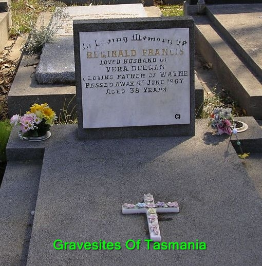 Gravesites of tasmania for Edward deegan